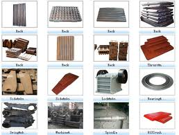 Jaw stone crusher part